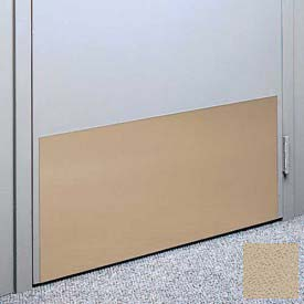 "Kick Plate Made From .040"" Pvc Sheet, 24"" X 32"", Tan - Pkg Qty 3"