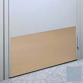 """Kick Plate Made From .040"""" PVC Sheet, Up to 48"""" x 48"""", Blue Fog"""