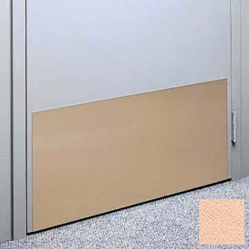 "Kick Plate Made From .040"" PVC Sheet, Up to 48"" x 48"", Eggshell"