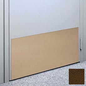 """Kick Plate Made From .040"""" PVC Sheet, 12"""" x 48"""", Brown"""