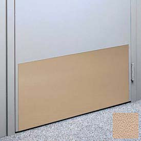 """Kick Plate Made From .040"""" PVC Sheet, 24"""" x 48"""", Caisson"""