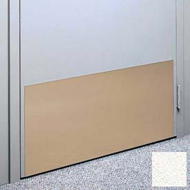 "Kick Plate Made From .040"" Pvc Sheet, 12"" X 32"", White Sand - Pkg Qty 6"