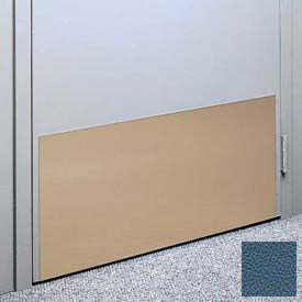 """Kick Plate Made From .040"""" PVC Sheet, Up to 48"""" x 48"""", Alexis Blue"""