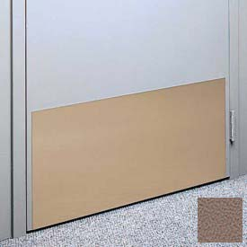 """Kick Plate Made From .040"""" PVC Sheet, 24"""" x 48"""", Cafe Au Lait"""