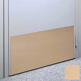 "Kick Plate Made From .060"" Pvc Sheet, 12"" X 32"", Toffee - Pkg Qty 6"
