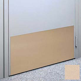 "Kick Plate Made From .060"" Pvc Sheet, 24"" X 48"", Desert Sand - Pkg Qty 2"