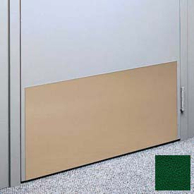 "Kick Plate Made From .060"" Pvc Sheet, 12"" X 32"", Hunter Green - Pkg Qty 6"