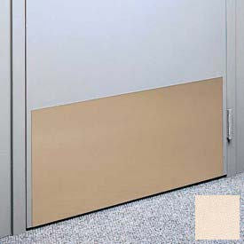 "Kick Plate Made From .060"" Pvc Sheet, 12"" X 32"", Wheat - Pkg Qty 6"