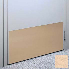 "Kick Plate Made From .060"" Pvc Sheet, 24"" X 48"", Cappuccino - Pkg Qty 2"