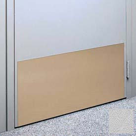 """Kick Plate Made From .060"""" PVC Sheet, 48"""" x 48"""", Silver Gray"""