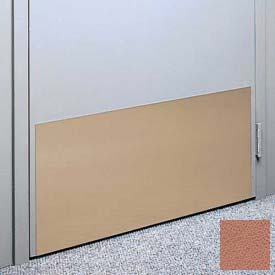 """Kick Plate Made From .060"""" Pvc Sheet, 12"""" X 32"""", Ginger Spice - Pkg Qty 6"""