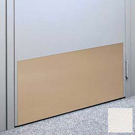 "Kick Plate Made From .060"" Pvc Sheet, 12"" X 48"", Pearl - Pkg Qty 4"