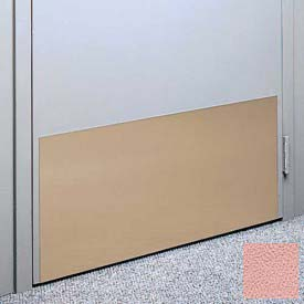 "Kick Plate Made From .060"" Pvc Sheet, 12"" X 48"", English Rose - Pkg Qty 4"