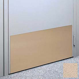 "Kick Plate Made From .060"" Pvc Sheet, 24"" X 48"", Mojave Sand - Pkg Qty 2"