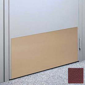 "Kick Plate Made From .060"" Pvc Sheet, 12"" X 32"", Cordovan - Pkg Qty 6"