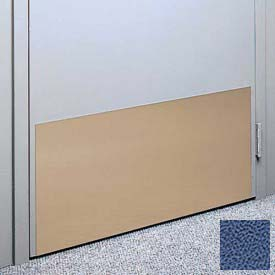 """Kick Plate Made From .060"""" Pvc Sheet, 12"""" X 32"""", Brittany Blue - Pkg Qty 6"""
