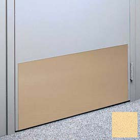 "Kick Plate Made From .060"" Pvc Sheet, 24"" X 48"", Saffron - Pkg Qty 2"