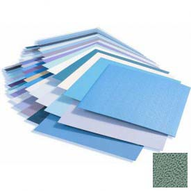 Rigid Vinyl Wall Covering, Pebblette/Haircell Texture, .040'' Thick, 4' X 8' Sheets, Teal