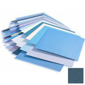 Rigid Vinyl Wall Covering, Pebblette/Haircell Texture, .040'' Thick, 4' X 8' Sheets, Alexis Blue