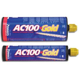 Powers 8490SD - AC 100+ Gold® Adhesive Anchor - SBS - 28 Oz. - Pkg of 8