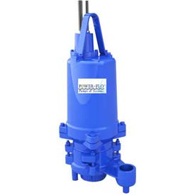 "Power-Flo 2"" Pump, Double Seal, 5HP, 3450RPM, 230V, 1PH, 60Hz."