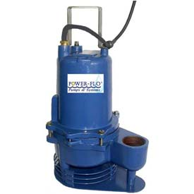 "Power-Flo 2"" Pump, High Temperature, 0.4 HP, 1750RPM, 115V, 1PH, 60Hz. - Manual Operation"