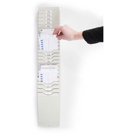 400-X Expanding Time Card Rack by