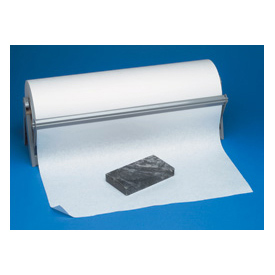 "40# Basis Weight White Butcher Paper 48"" - 1000' / Roll"