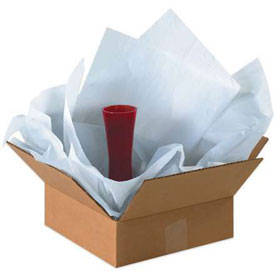 "Heavy Tissue Paper, 18#, 20"" x 36"", White, 1700 Pack"