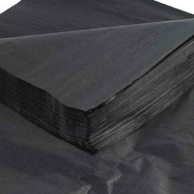 "Black Tissue Paper 20"" x 30"" - 480 Pack"