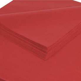 "Red Tissue Paper 20"" x 30"" - 480 Pack"