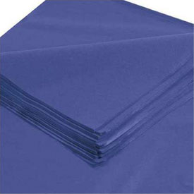 "Tissue Paper, 10#, 20"" x 30"", Royal Blue, 480 Pack"