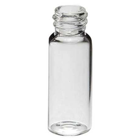 Qorpak VG11151-212 Clear Glass Large Opening Screw Thread Chromatography Vials, 2mL, Case of 1000