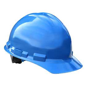 Radians GHR4 Granite Cap Style Hardhat, 4 Point Ratchet, Blue by