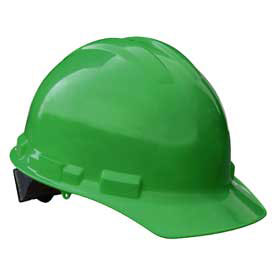 Radians GHR4 Granite Cap Style Hardhat, 4 Point Ratchet, Green by
