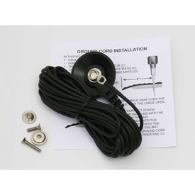 Rhino Mat 15' Button Styled Grounding Cable - AA-107