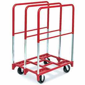 """Raymond Products 3848 Panel Mover 6"""" Swivel Phenolic Casters, 3 Extra Tall Uprights"""
