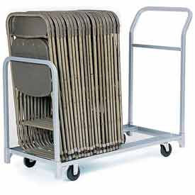 "Folding/Stacking Chair Truck, 52""L x 23""W, All Steel"
