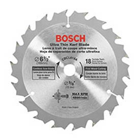 "BOSCH CBCL618A, 6-1/2"", 18T, C.T. Cordless Circular Saw Blade by"
