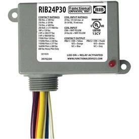 relays and sequencers relays rib 174 enclosed power relay rib24p30 30a dpdt 24vac dc