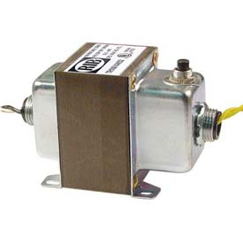 RIB® Transformer TR100VA002, 100VA, 120-24V, Dual Hub, Foot Mount, Circuit Breaker