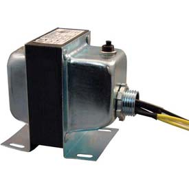 RIB® Transformer TR50VA005US, 50VA, 120-24V, Single Hub, Foot Mount, Circuit Breaker