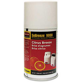 Sebreeze® 9000 Series Citrus Breeze Odor Neutralizer, Aerosol Can 4/Case - RCP516000