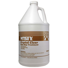 Misty Crystal Clear Dust Mop Treatment Gallon Bottle, 4 Bottles/Case 1003411 by