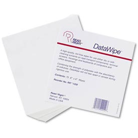 Datawipe Office Equipment Cleaner Cloths, 75/Pack - REARR1250