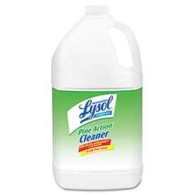 Lysol® Disinfectant Pine Action Cleaner, Gallon Bottle 4/Case - RAC02814CT