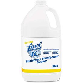 Lysol® Brand I.C. Quaternary Disinfectant Cleaner, Gallon Bottle 4/Case - RAC74983CT