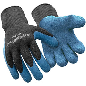 Premium Thermal ErgoGrip Glove, Blue & Black - Medium
