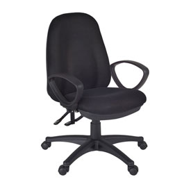 Regency Fabric Task Chair - Black - Momentum Series