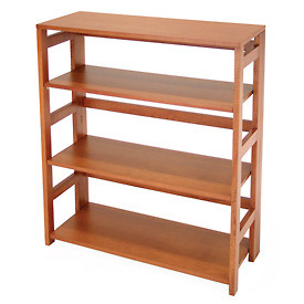34x30 Flip Flop Bookcase - Cherry